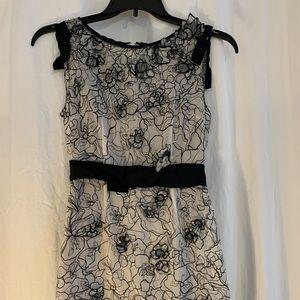 Elie Tahari Lace Cocktail/Work Dress Sz 0